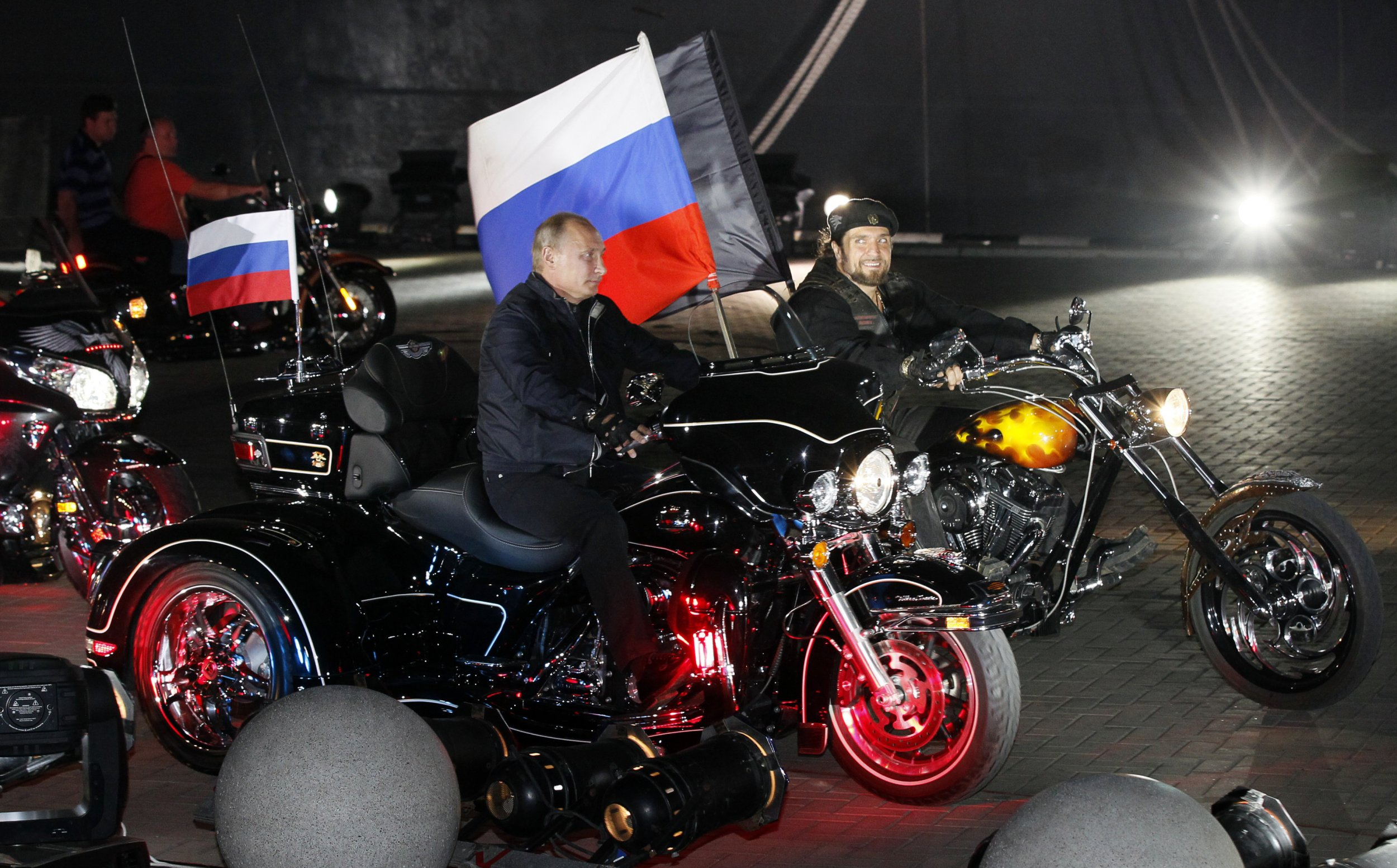 How Poland Russian bikers scared