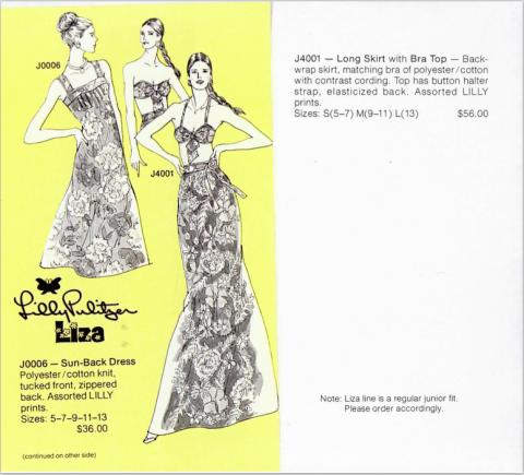 Lilly Catalogue