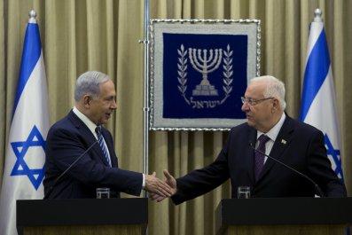 Netanyahu and Rivlin