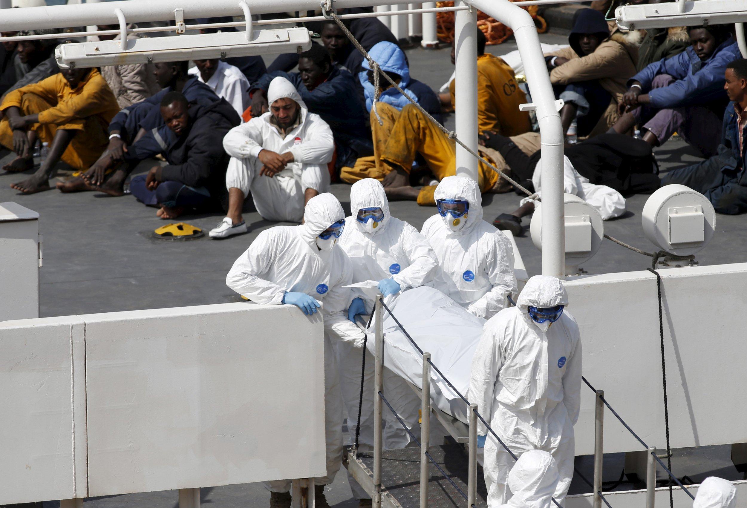 Malta surviving migrants