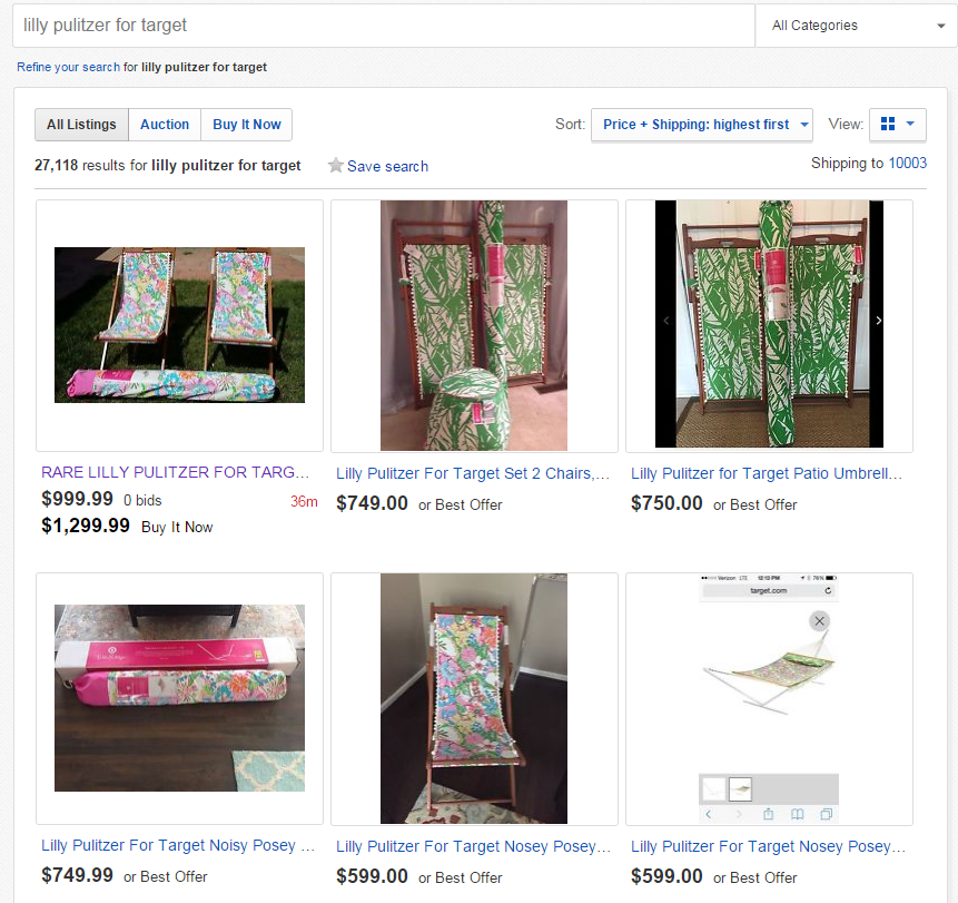 Lilly for eBay