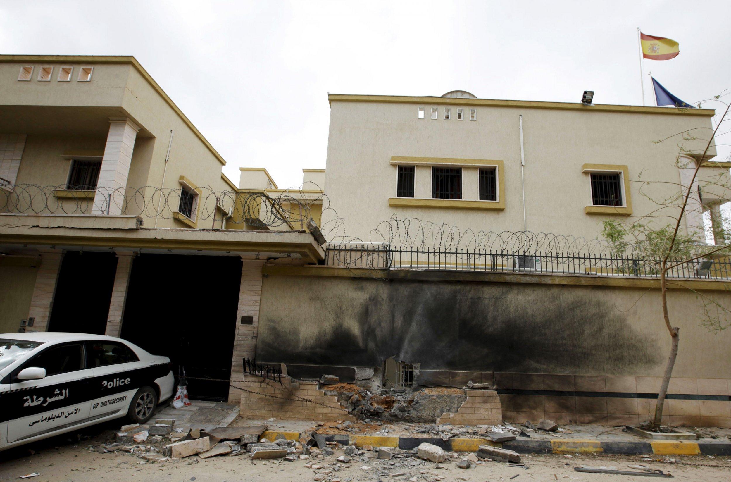 Spanish embassy Tripoli