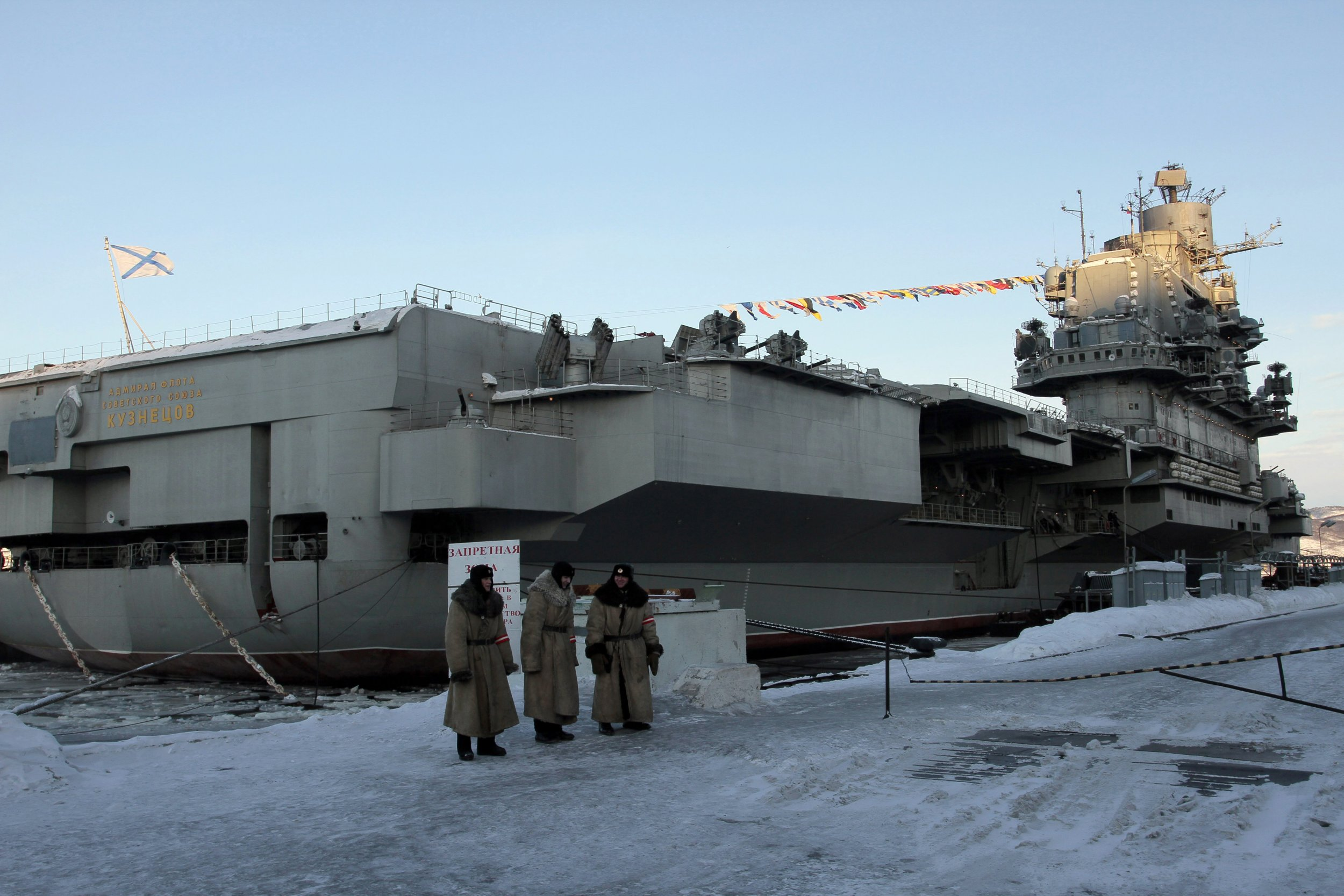 why does putin need an aircraft supercarrier