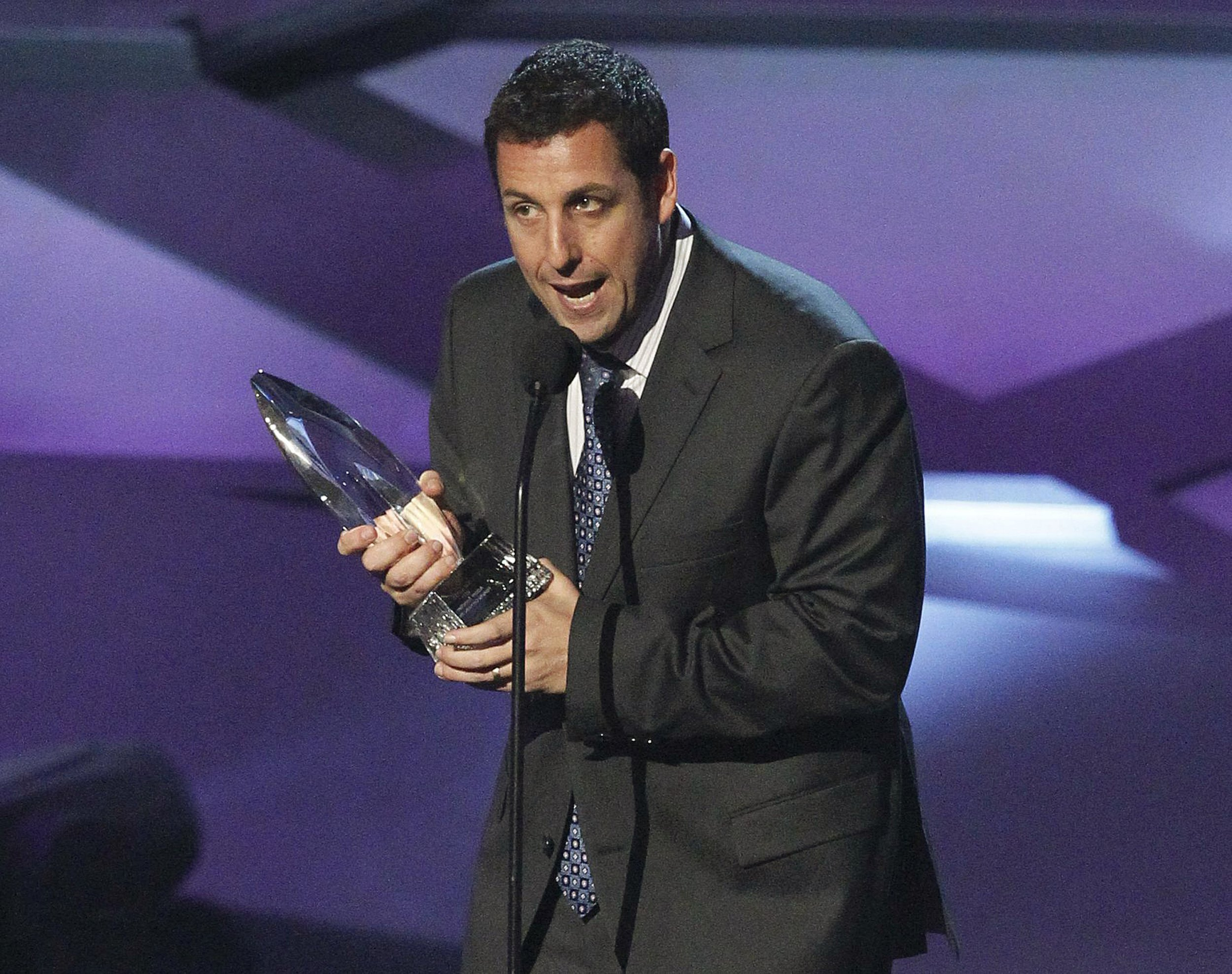 """life and career of adam sandler Adam sandler's new comedy-fantasy film """"the cobbler"""" joins a long list of box-office flops that have plagued the jewish-american comedian's career in recent years it may not have been made with a particularly large budget (an estimated $10 million), but, nonetheless, it is increasingly hard ."""