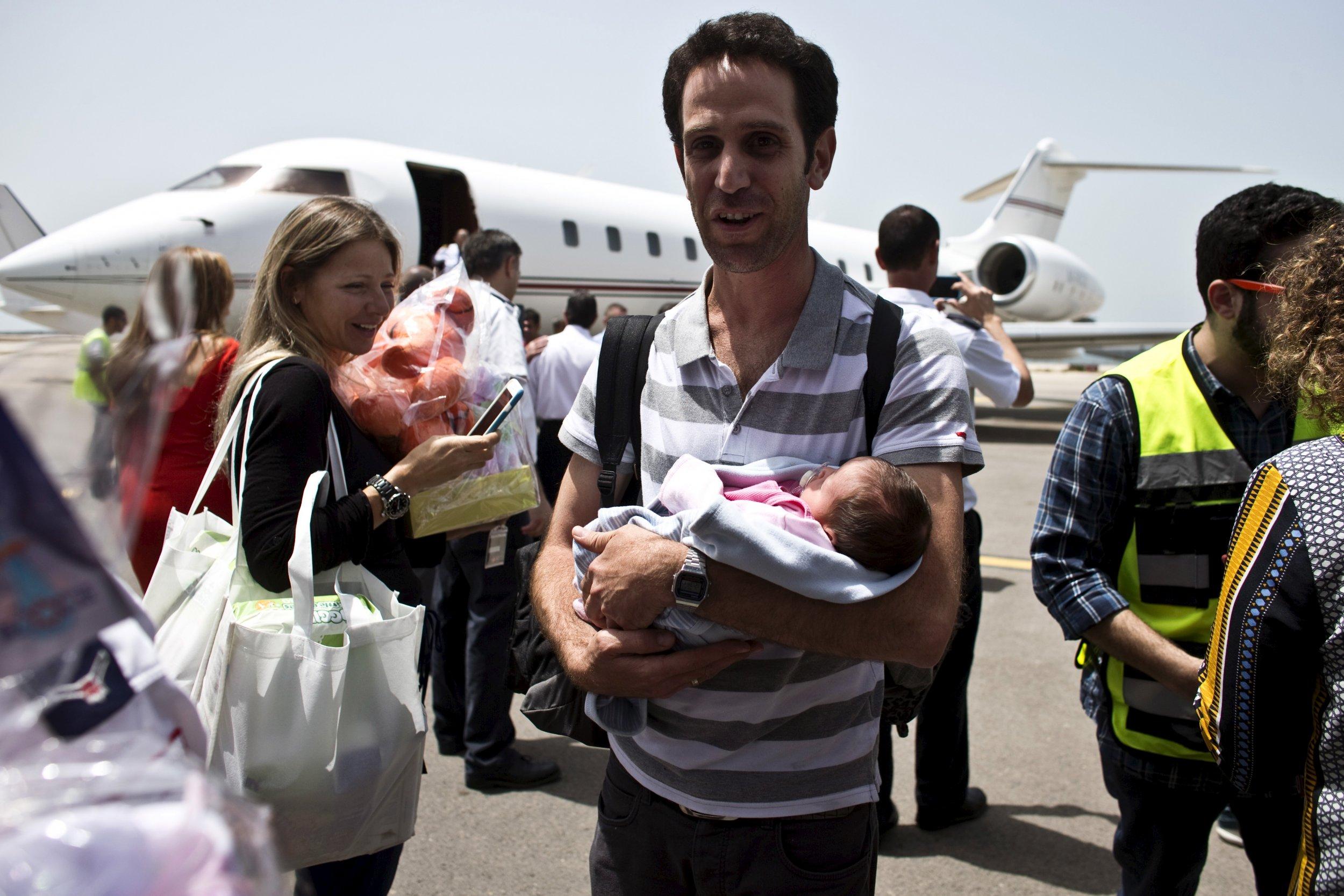 Israeli surrogate father