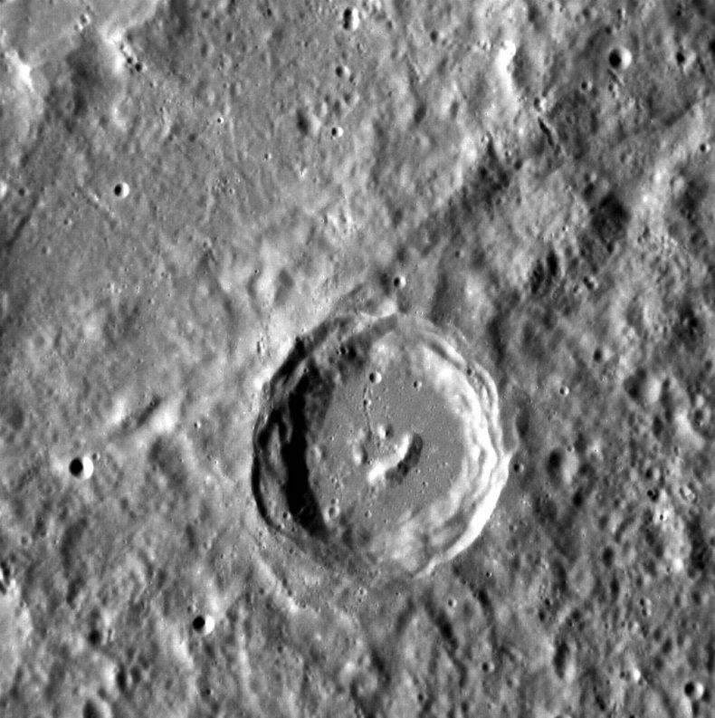 4-30-15 Mercury crater