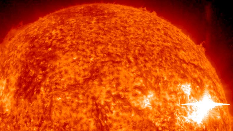 4-30-15 Sun from Messenger