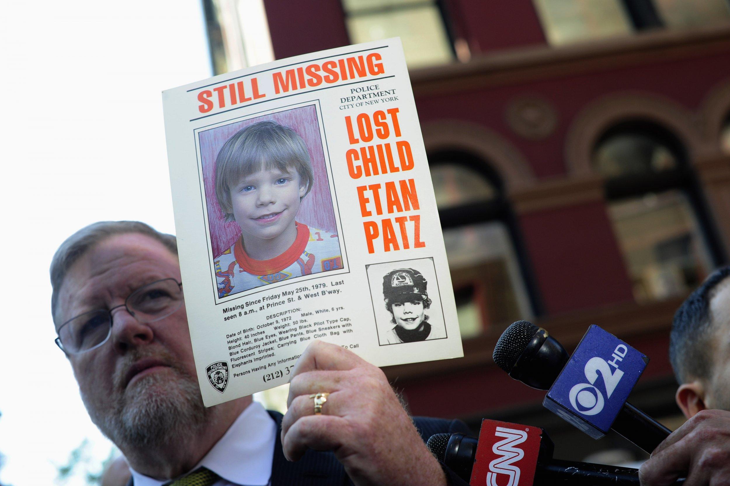 Missing Boy Etan Patz