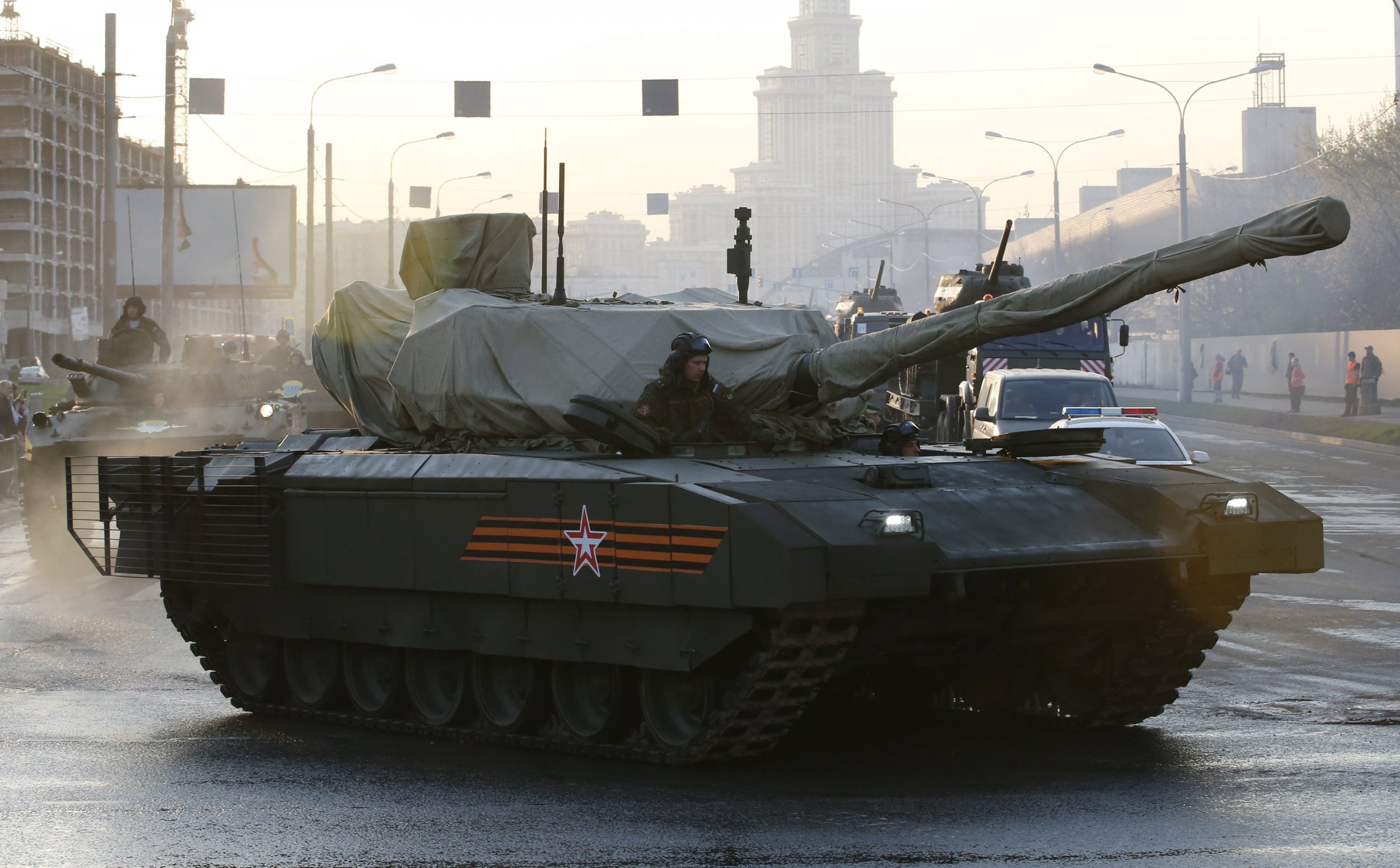 russia will unveil next generation armata t 14 tank on. Black Bedroom Furniture Sets. Home Design Ideas