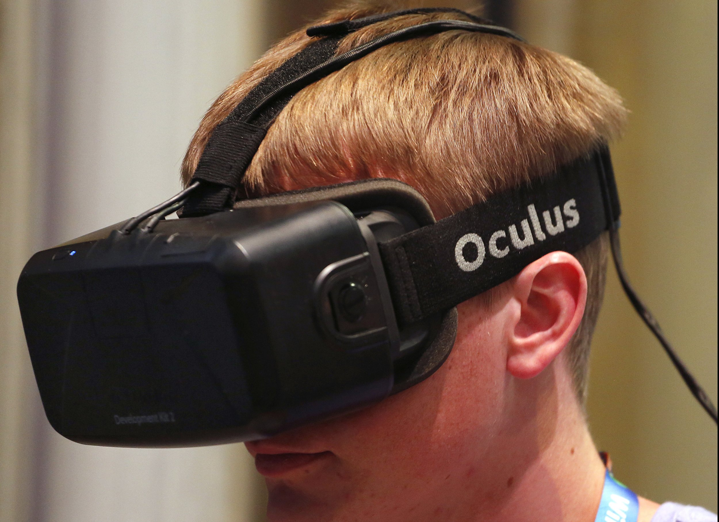 278c7c9dd2c Oculus Rift Oculus VR announced its Oculus Rift consumer headset will be available  in the first ...