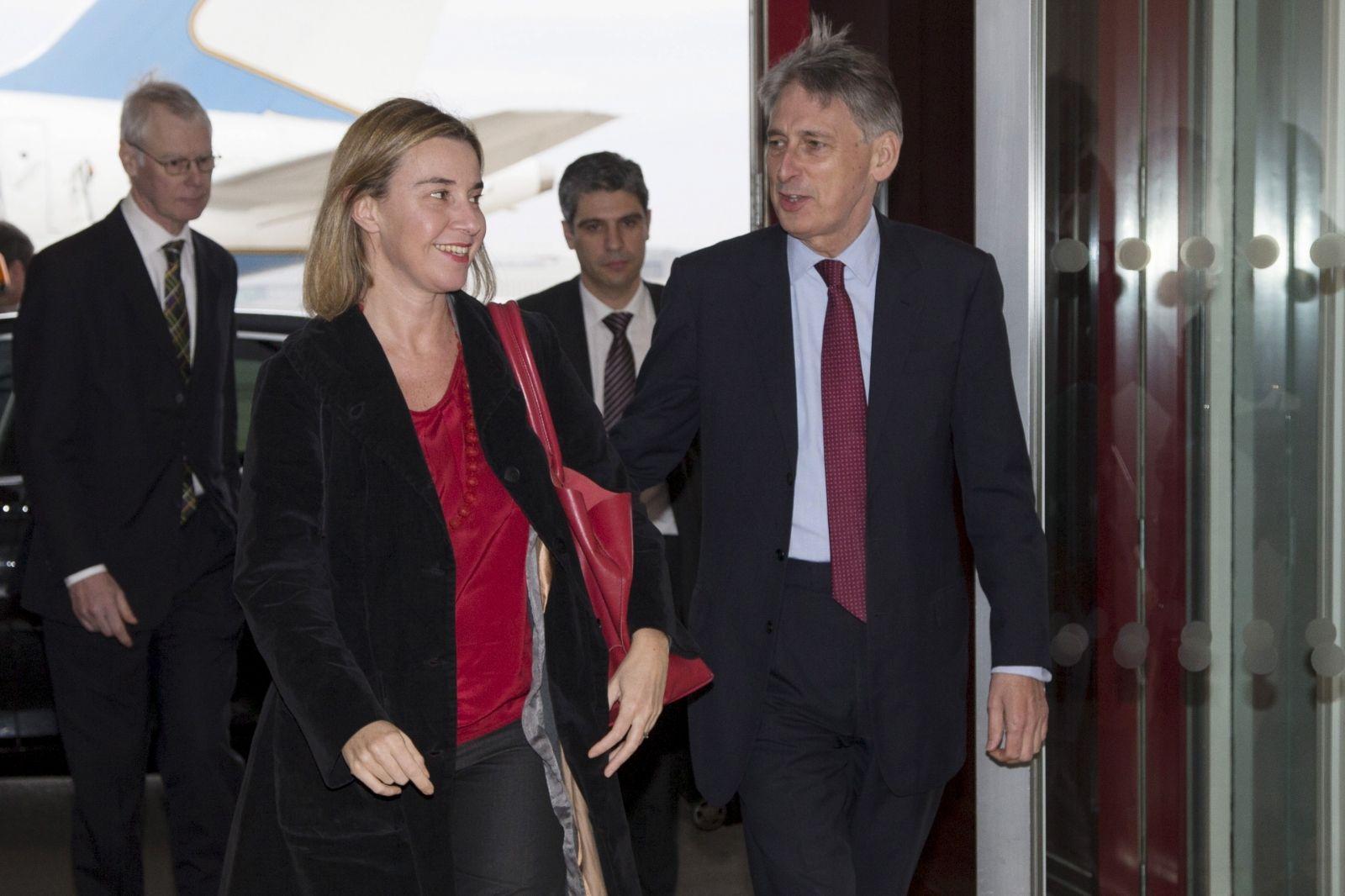 Mogherini and Hammond