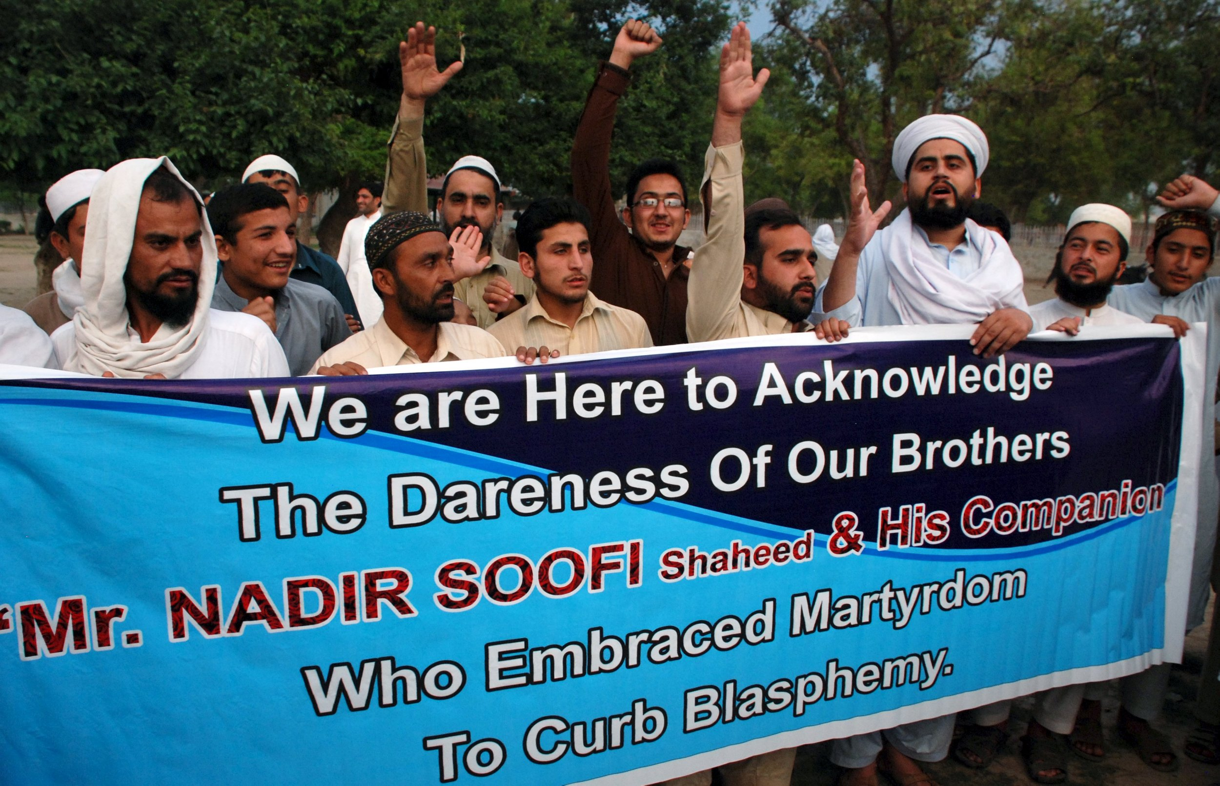 Pakistan school celebrates Texas terrorist