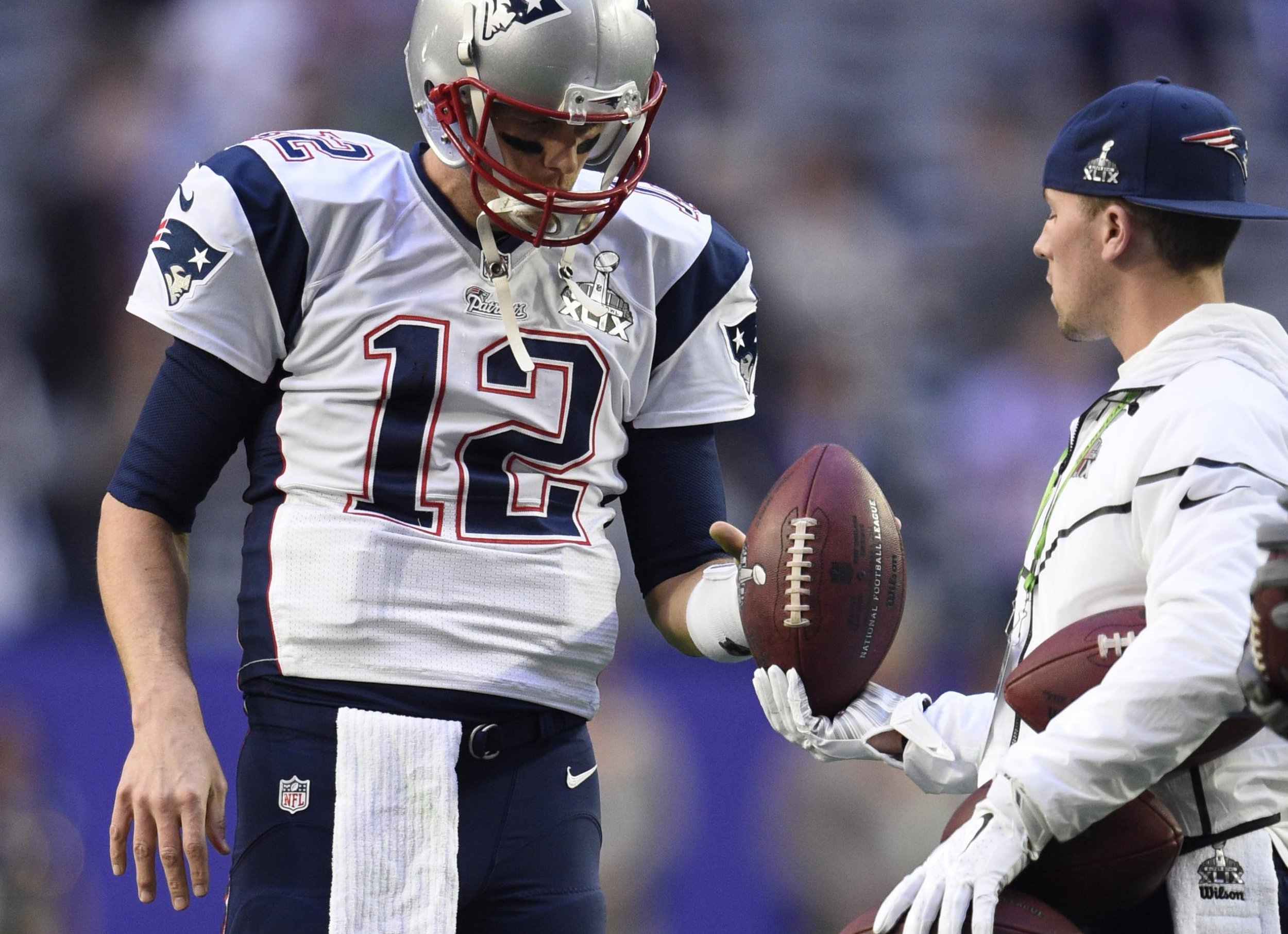 How Tom Brady's Deflategate Conspiracy Blew Up: Soft Balls ...
