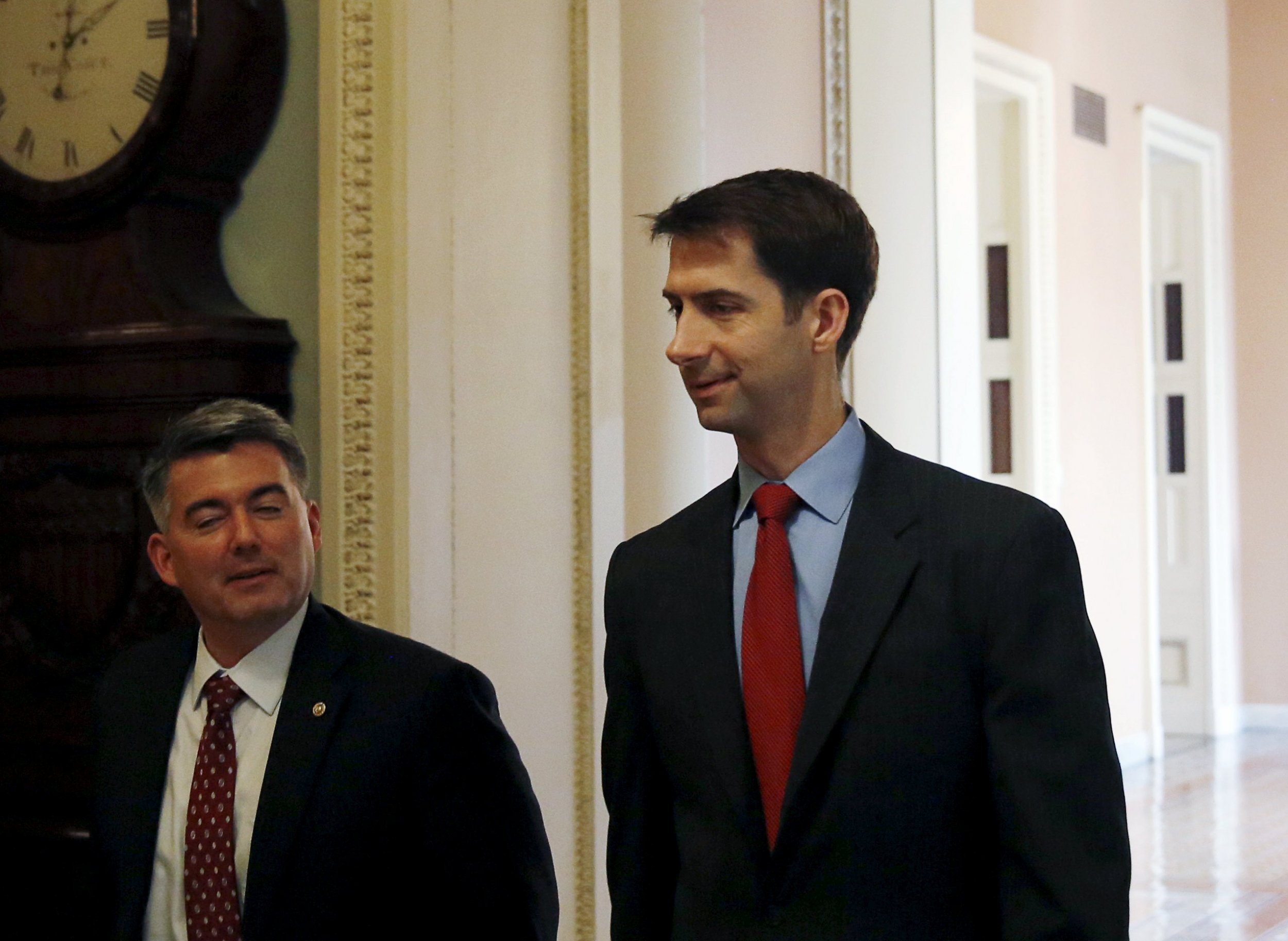 Tom Cotton is the lone vote against Iran Deal congressional review bill