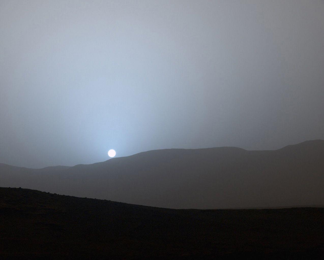 5-11-15 Mars sunset