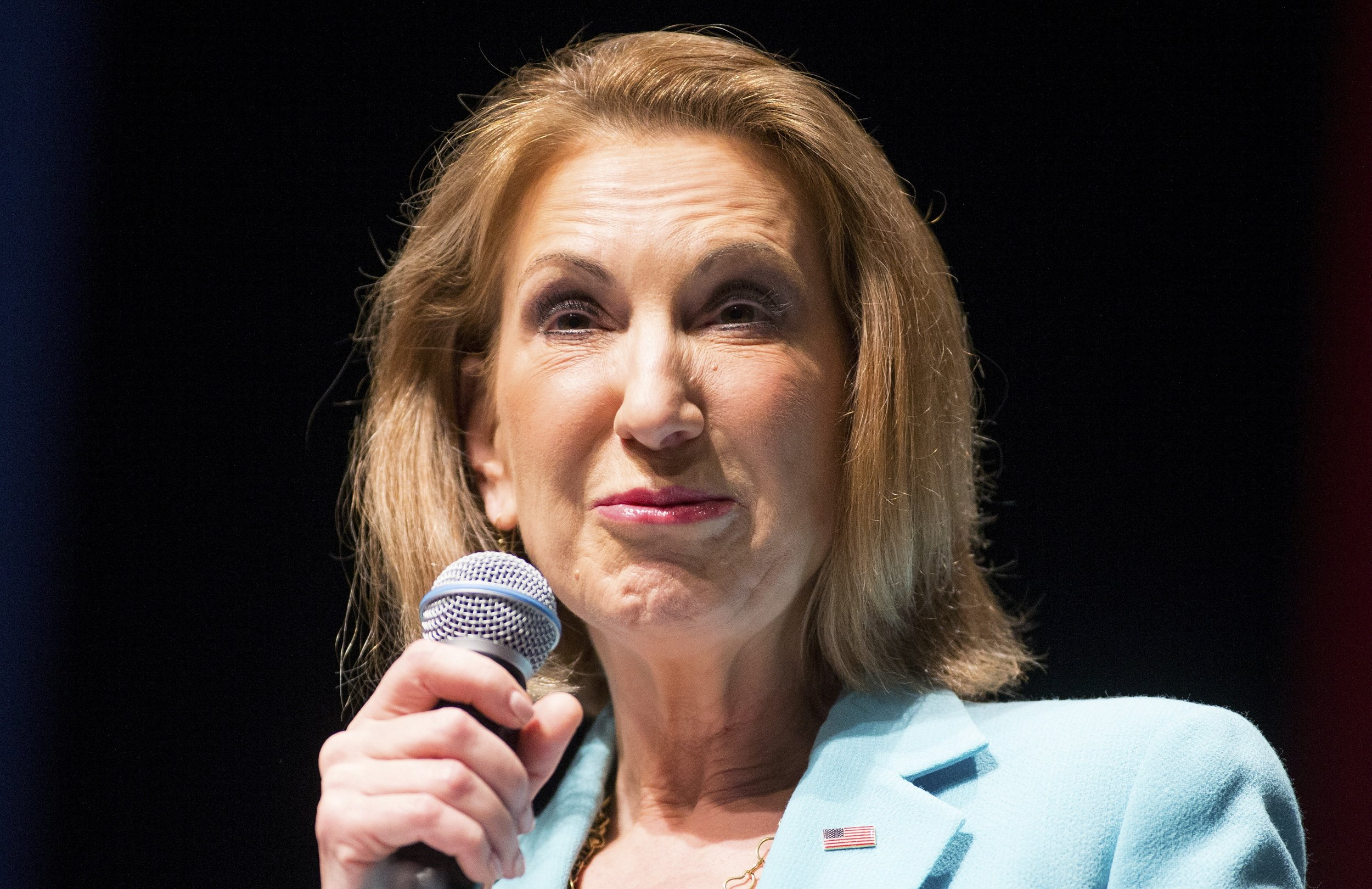 how tall is carly fiorina