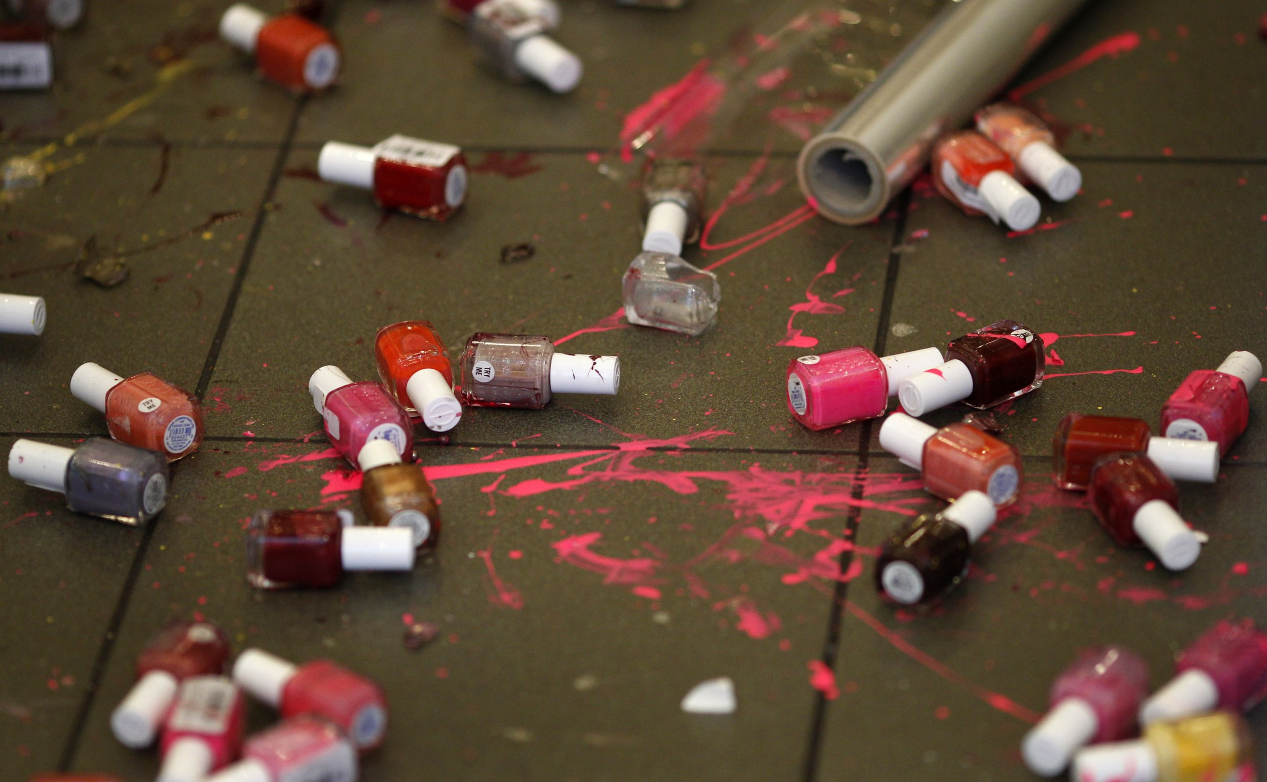 5-11-15 Nail polish spilled