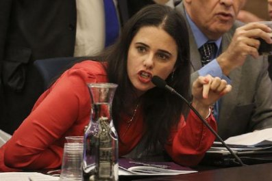 Ayelet Shaked is a controversial figure