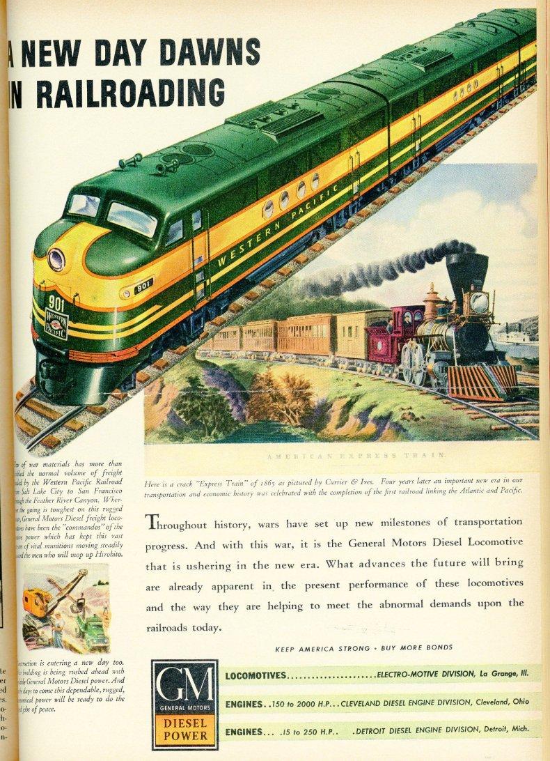 1943 advertisement