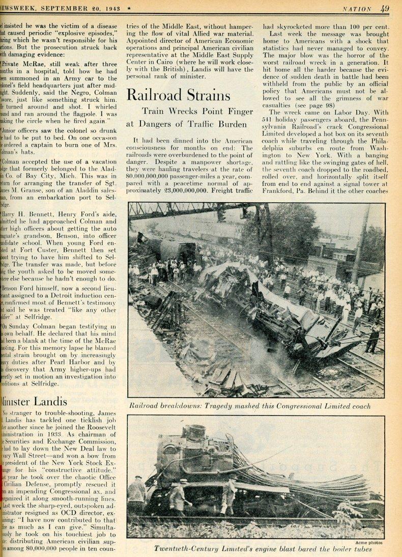 1943 train crash