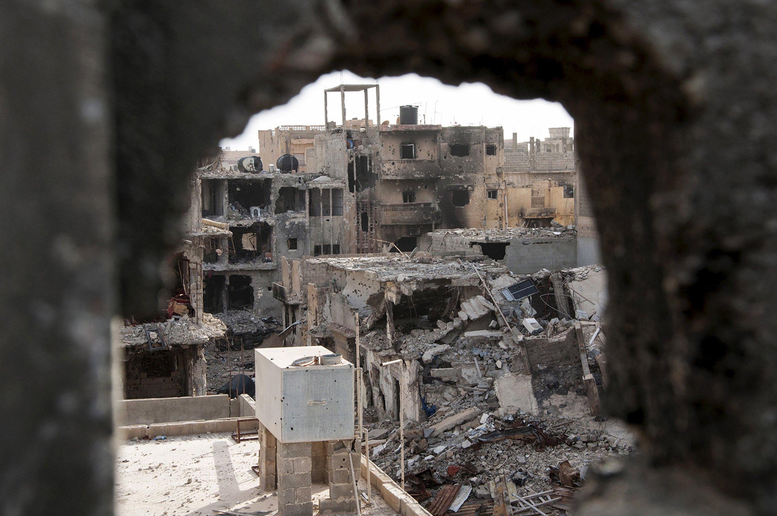 Benghazi buildings