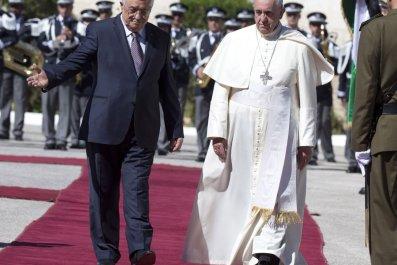mahmoud-abbas-pope-francis