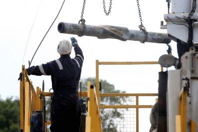 fracking-drill