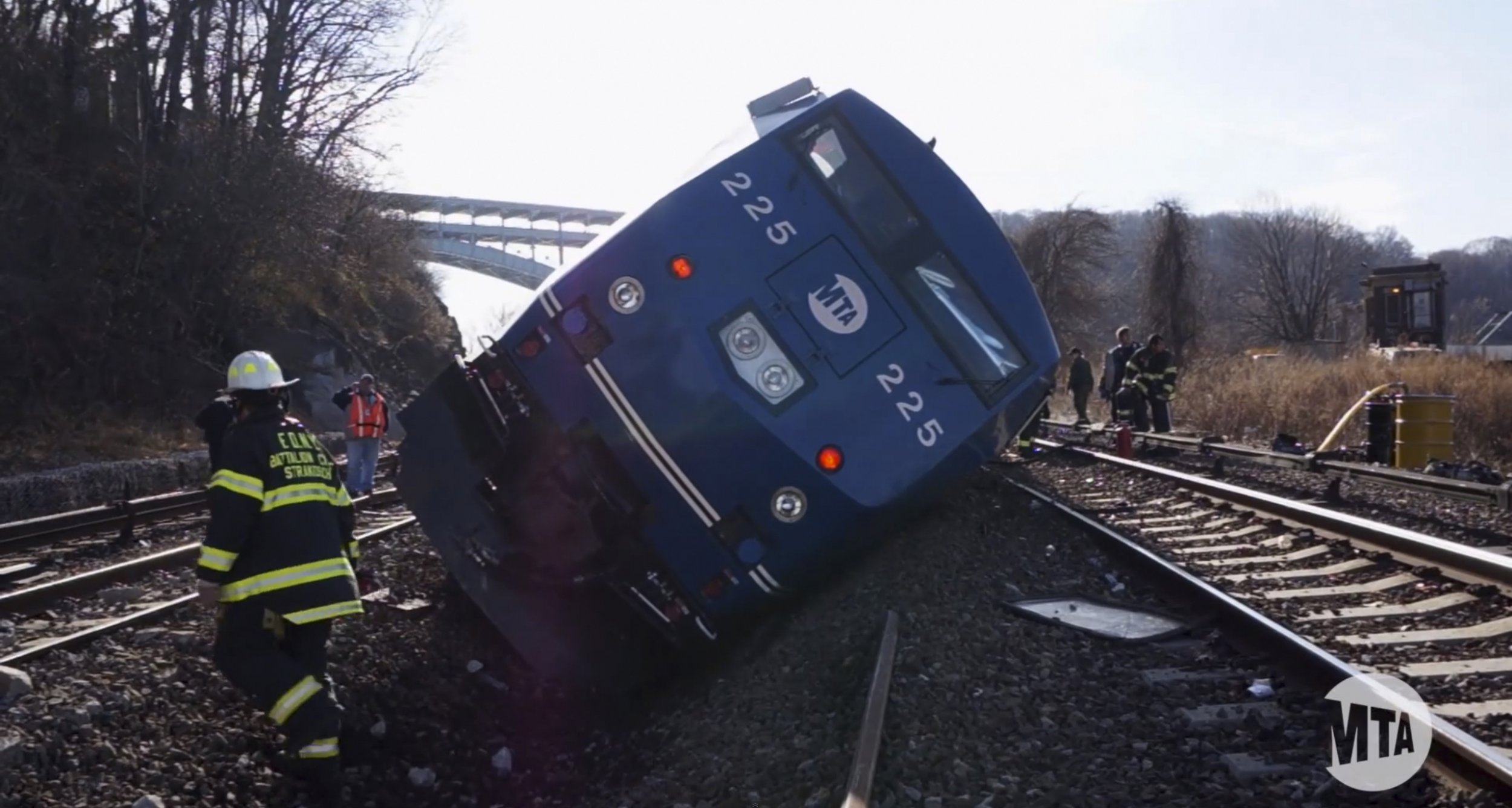 There will be no charges in a Metro North derailment in 2013.