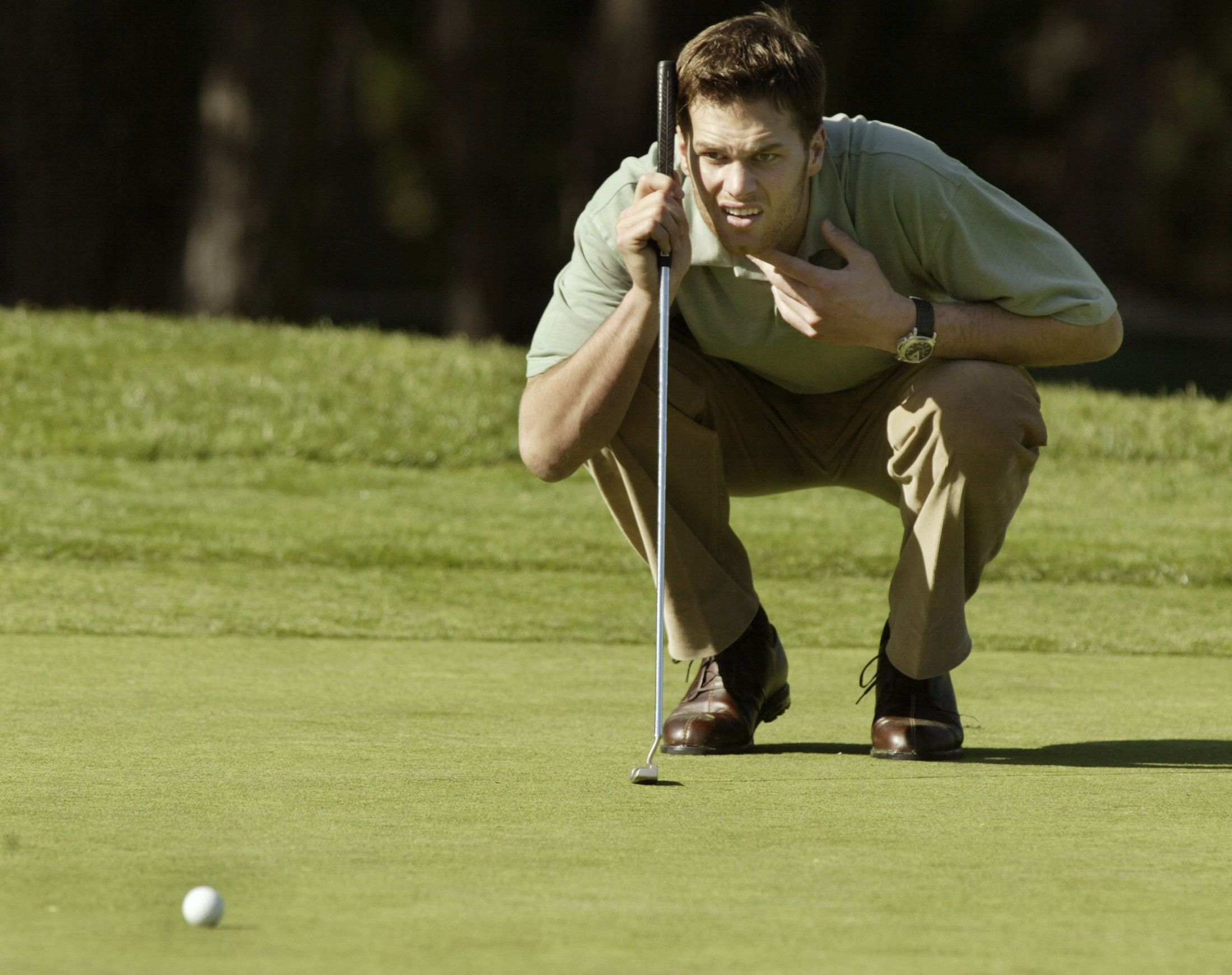 Tom Brady Golfing