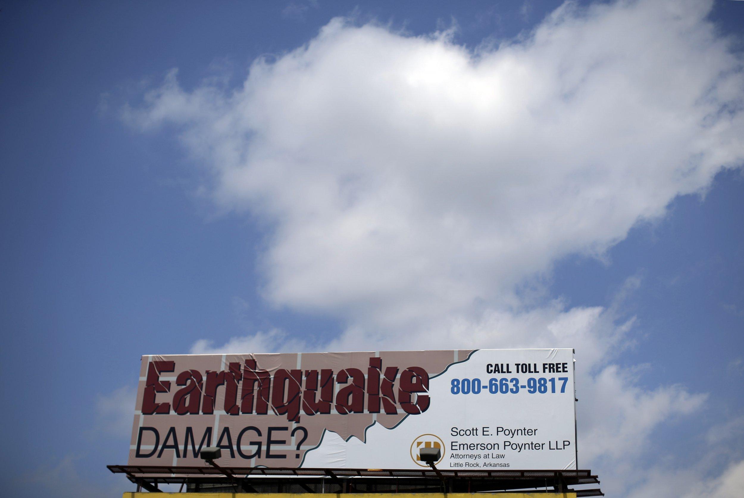 Earthquakes Oklahoma