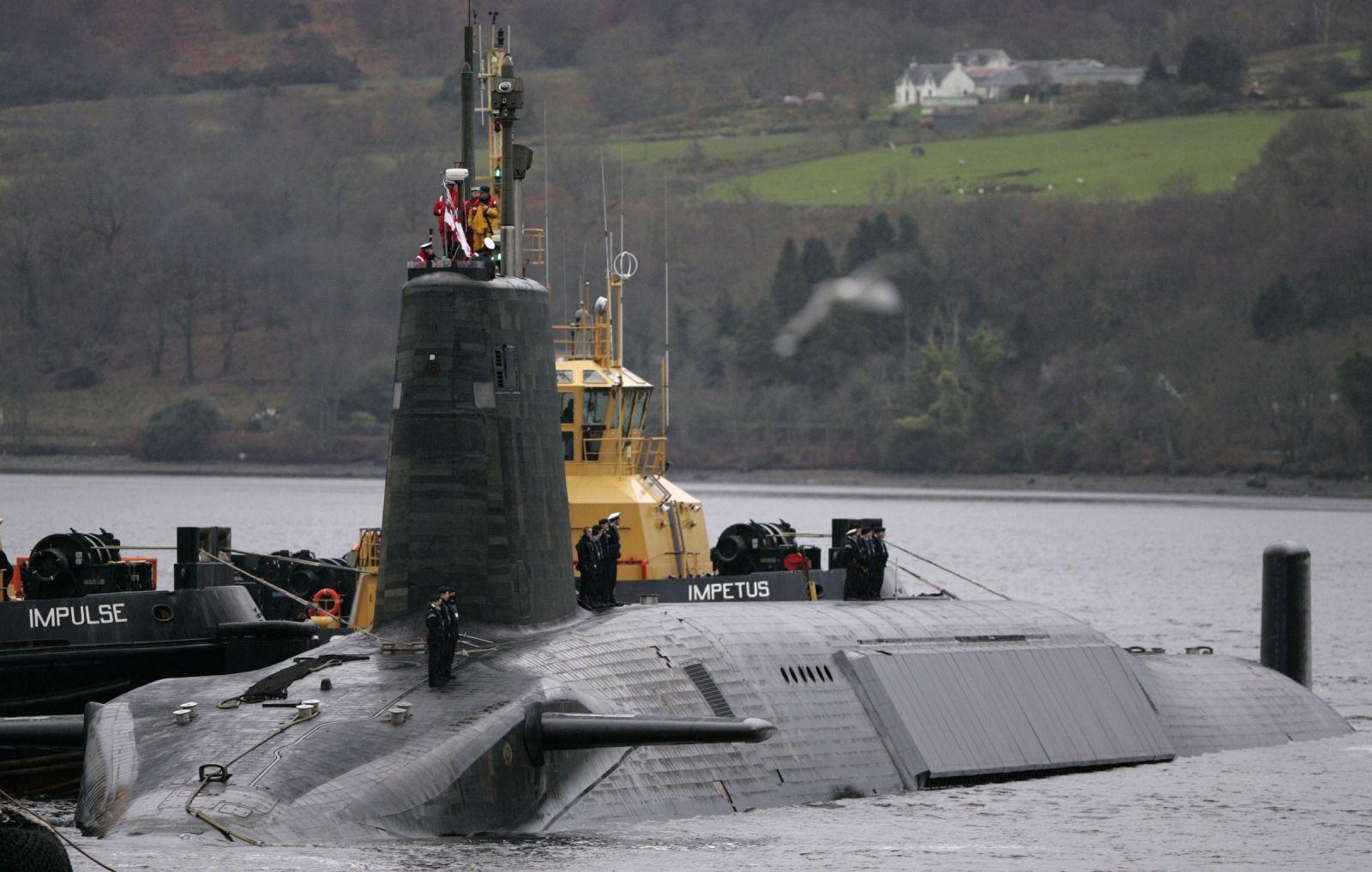Trident nuclear submarine