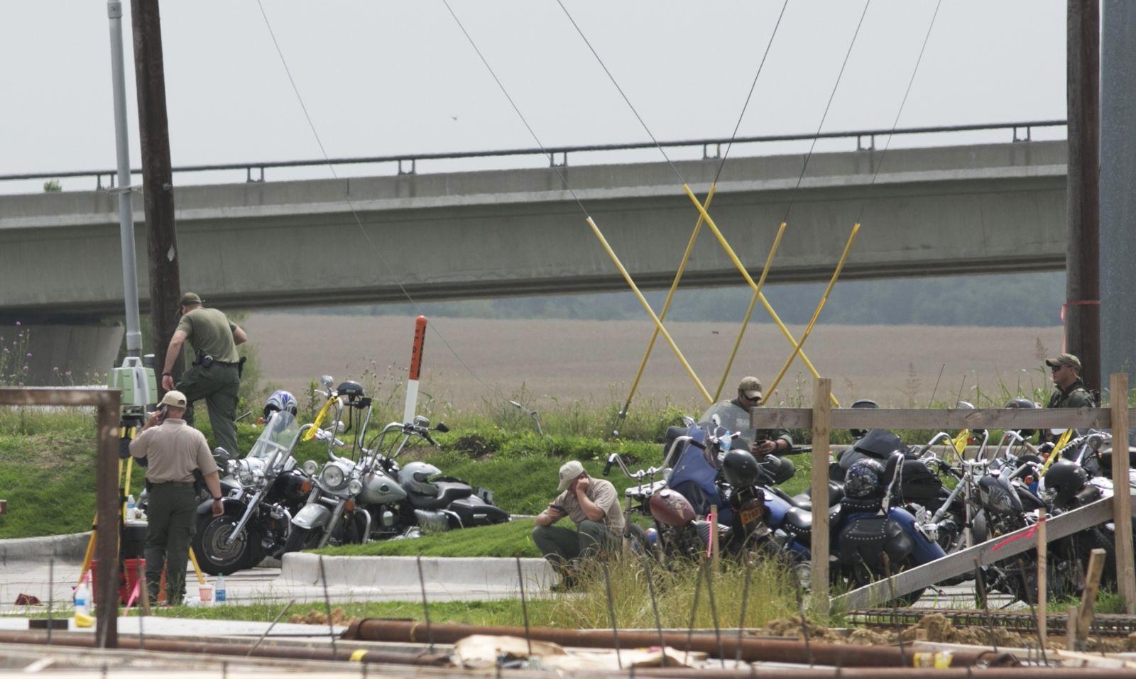 Texas biker gang shooting