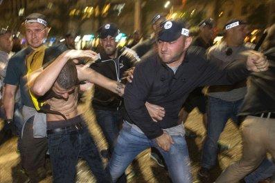 Ethiopian Jews protest in Tel Aviv