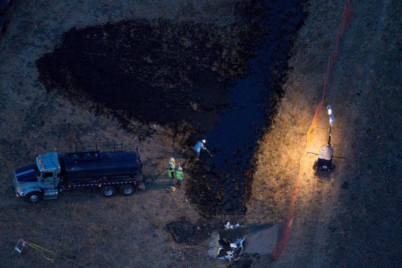 Santa Barbara pipeline spill