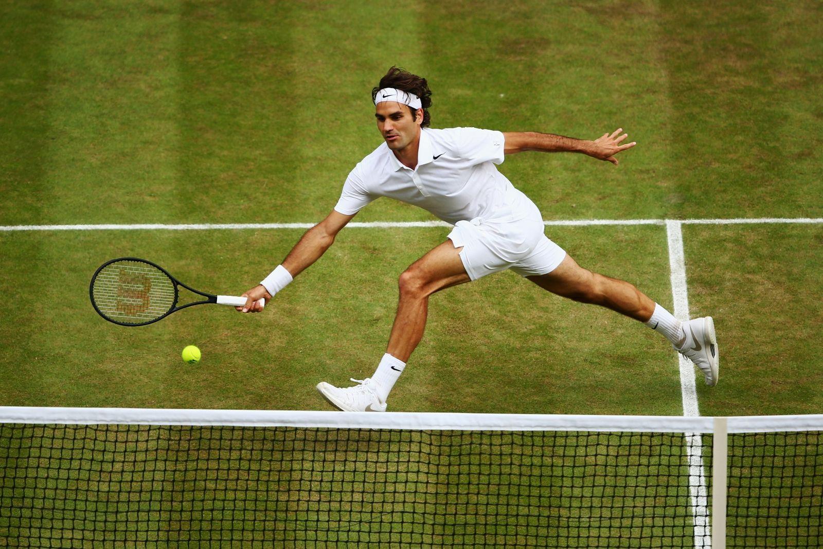 Roger Federer vs Novak Djokovic at Wimbledon