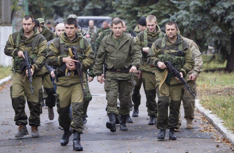 Zaharchenko and Donetsk rebels