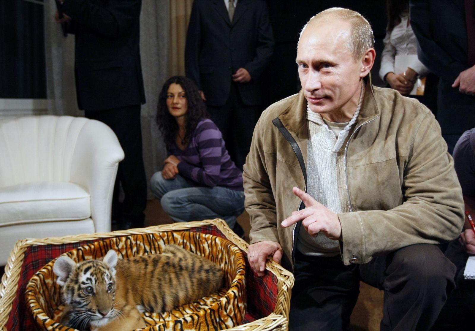 putin-his-tiger