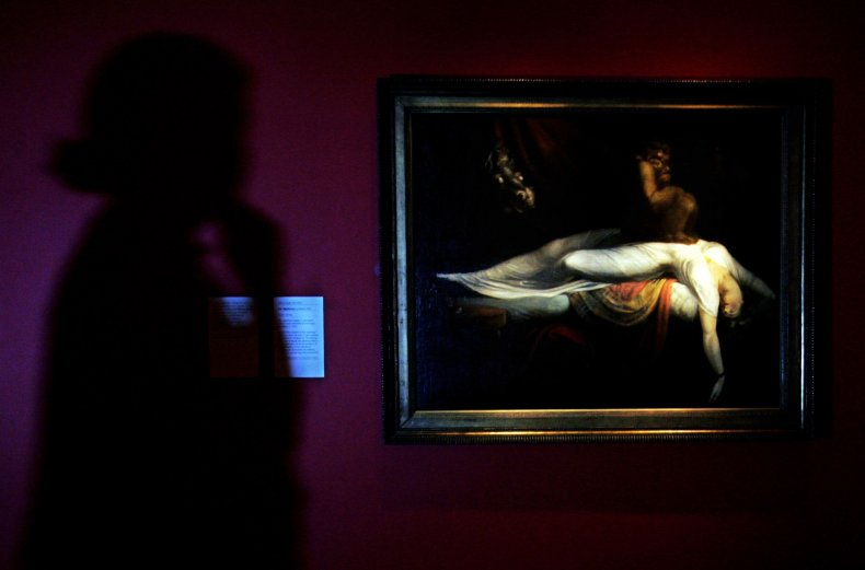Henry Fuseli's Le Cauchemar