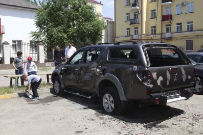 An Attack on the Committee's Against Torture Office in Chechnya