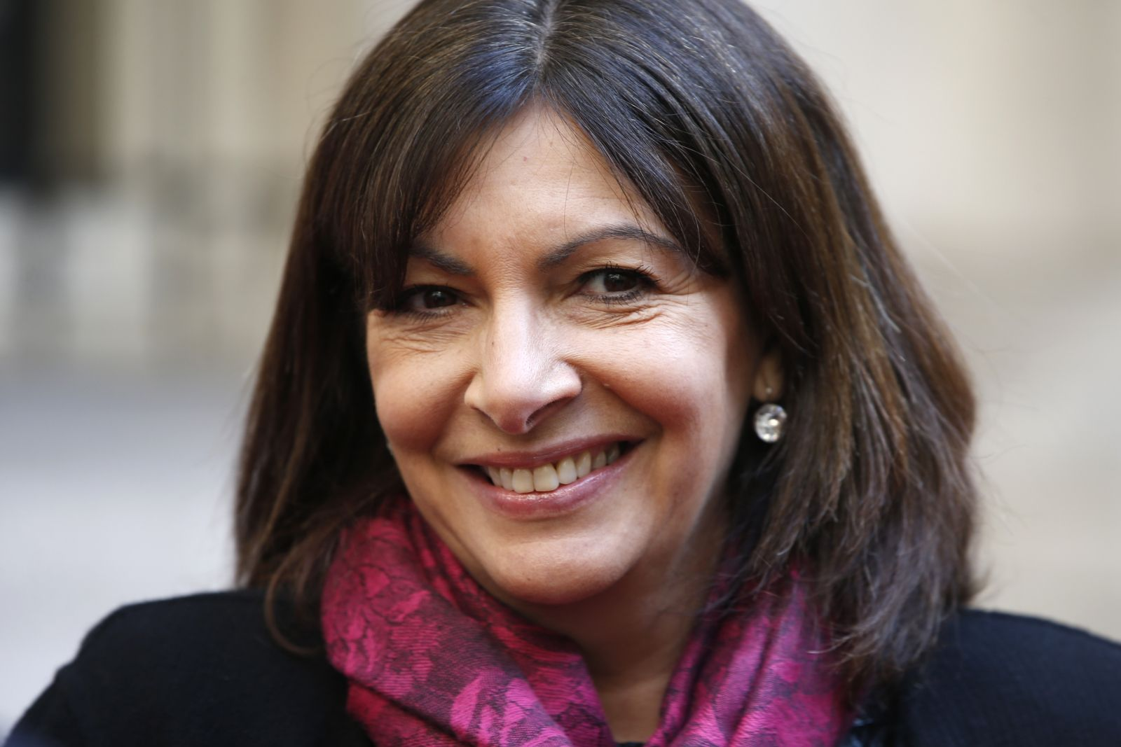 Anne Hidalgo Paris mayor