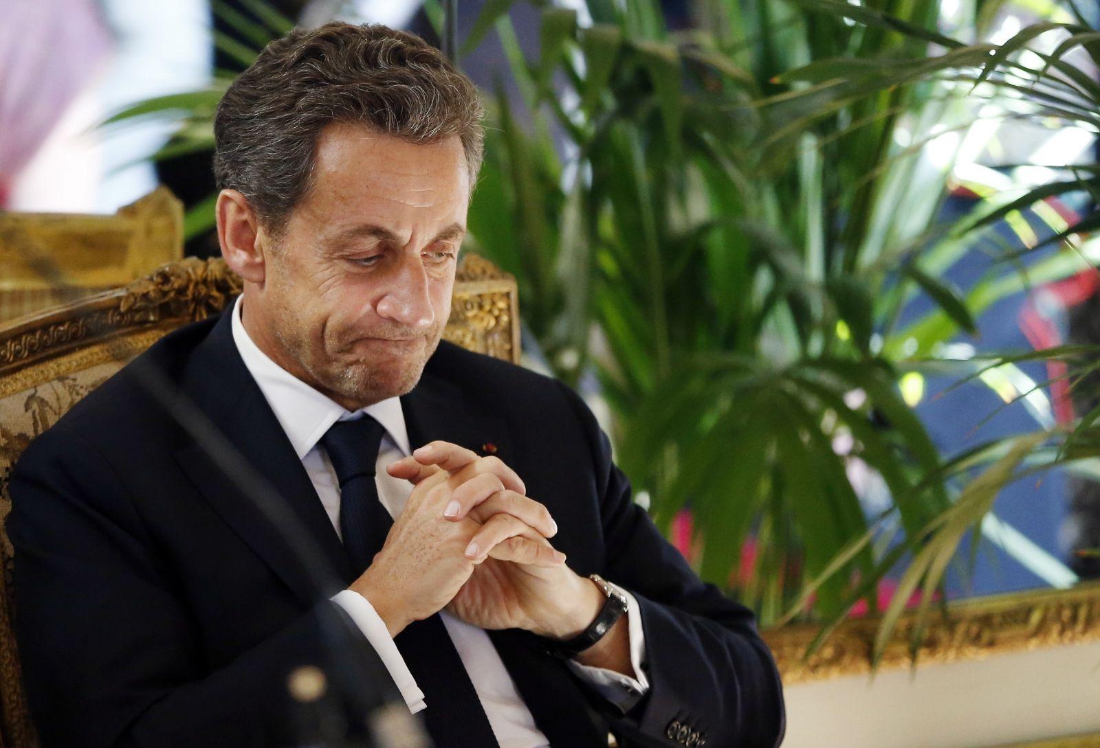 Sarkozy in scandal