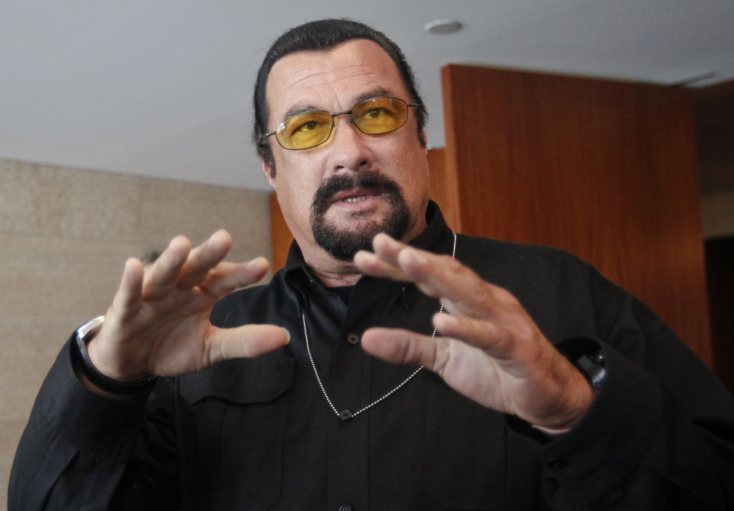 Steven Seagal in Russia