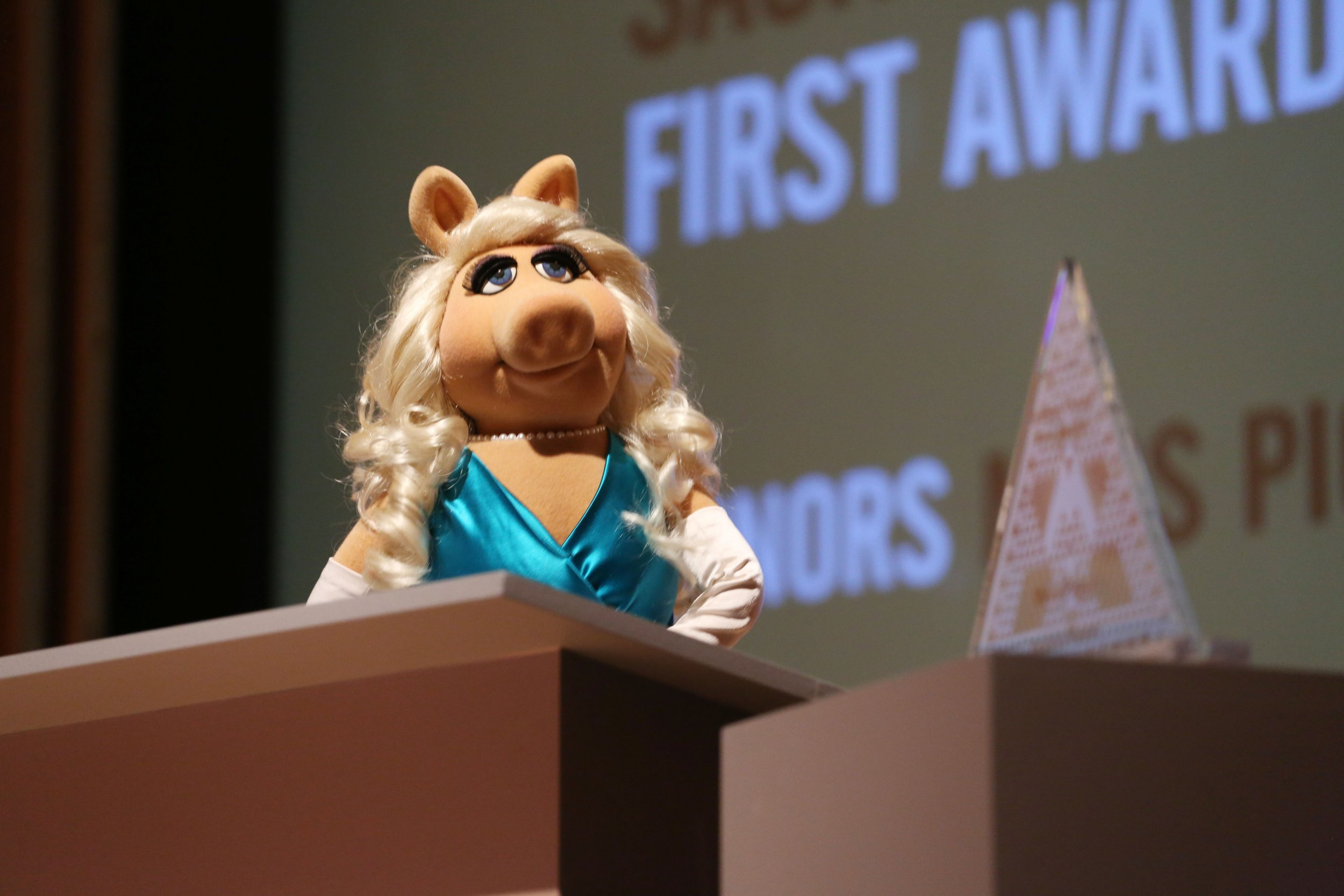 6-5-15 Miss Piggy First Award