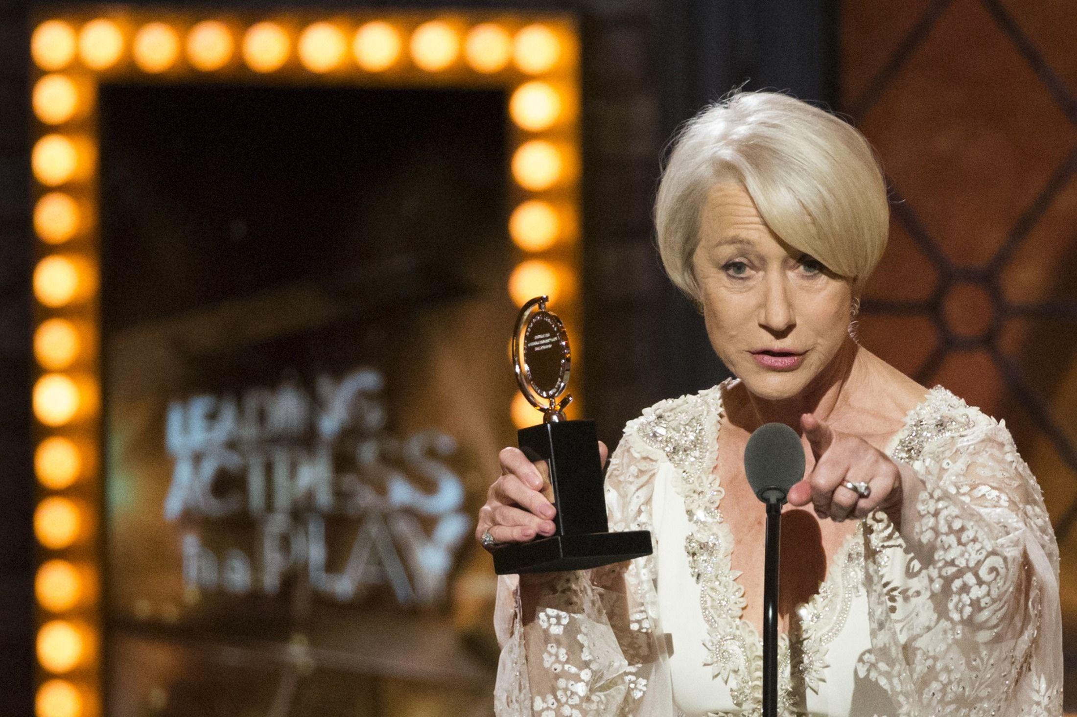 Helen Mirren, Musical 'Fun Home,' Win at Tony Awards