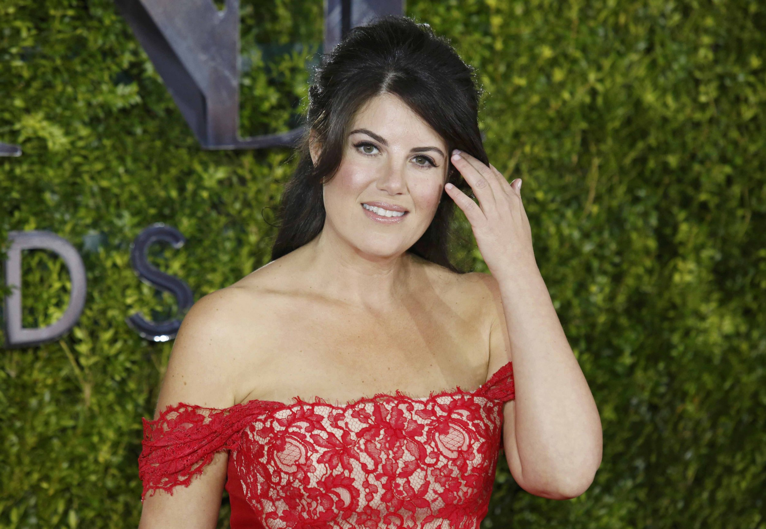 Monica Lewinsky at the Tony Awards