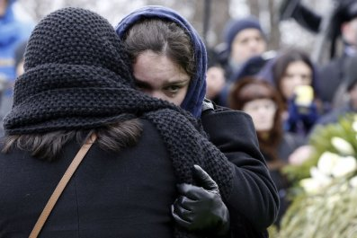 Boris Nemtsov's daughter leaves Russia