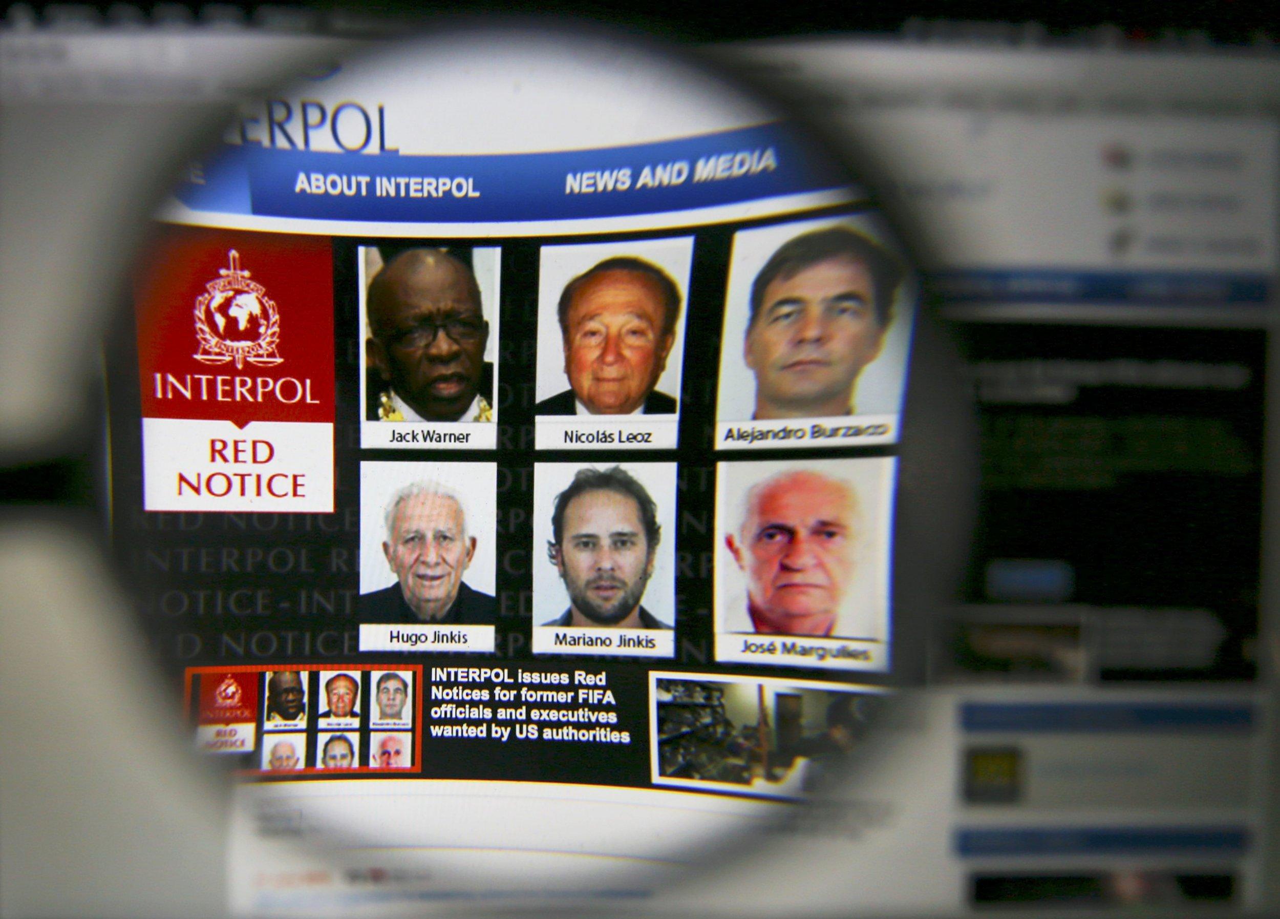 Interpol red notice
