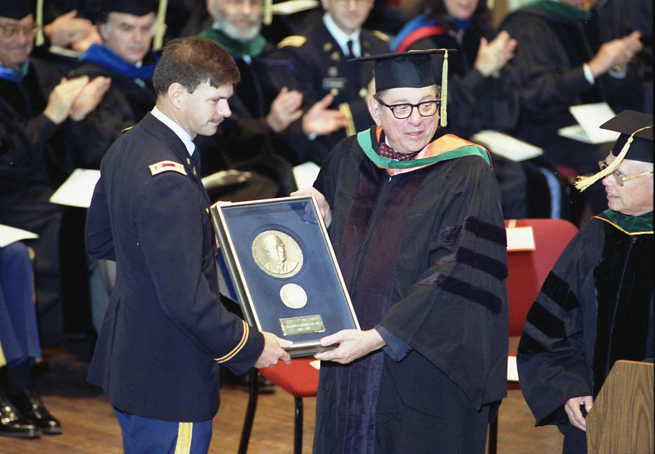 U.S. Army Medical Corps retired Lt. Colonel John Hagmann