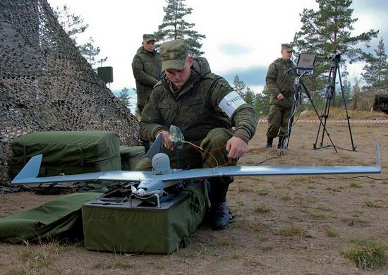 Russia Arms Troops on Western Border With Drones