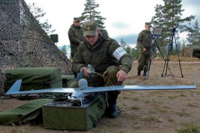 Russian drone exercise 2